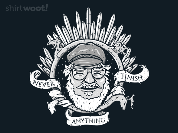 Never Finish Anything! T Shirt