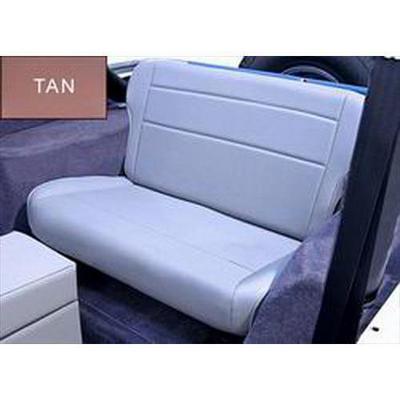 Rugged Ridge Fold and Tumble Rear Seat (Tan) - 13462.04