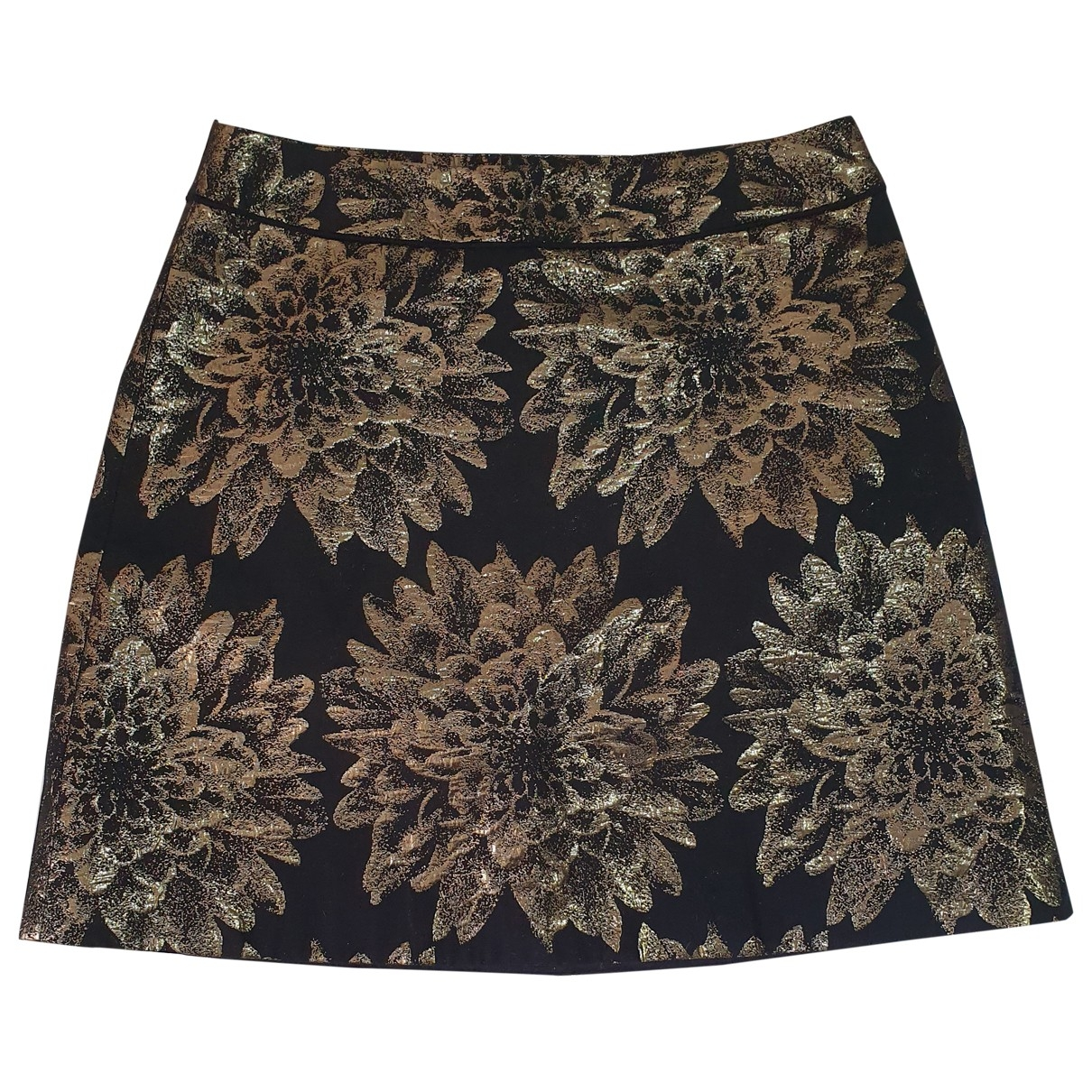Karen Millen \N Gold skirt for Women 38 FR