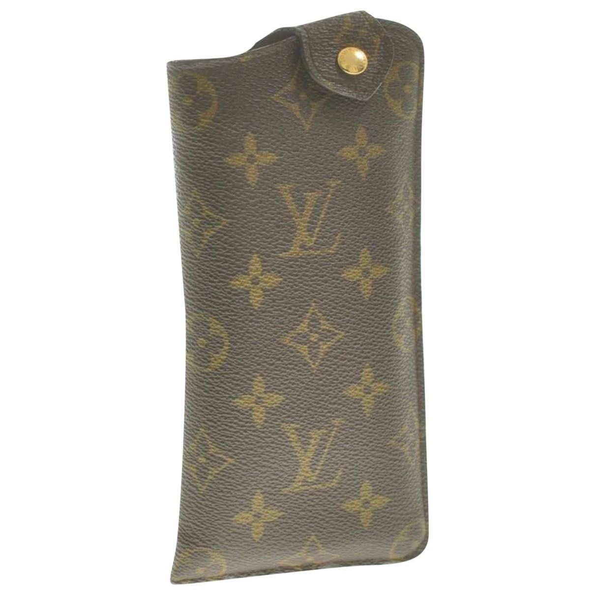 Louis Vuitton \N Brown Cotton scarf for Women \N