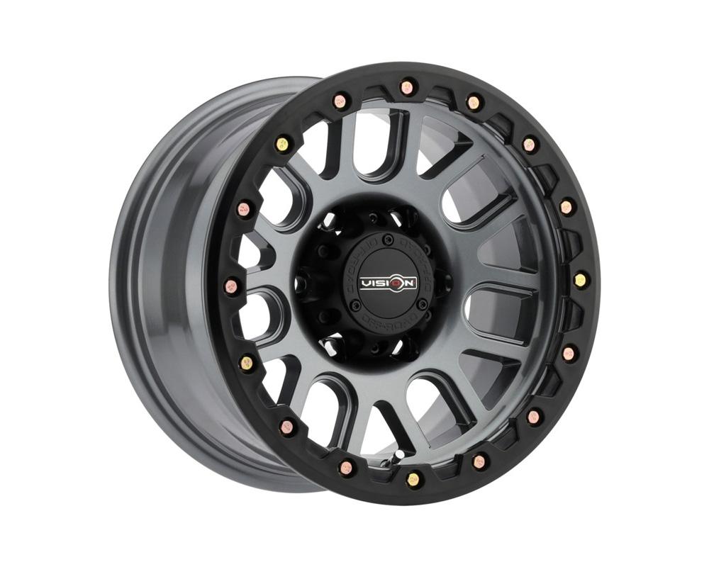 Vision Nemesis Gunmetal Wheel 18x9 6x139.7 18