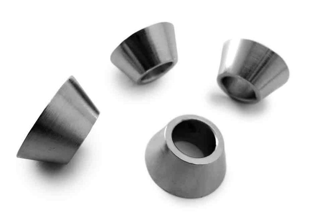Steinjager J0030459 Cone Style Rod End Spacers 7/16 Bore 4 Pack