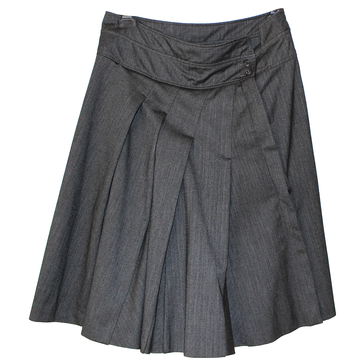 Non Signé / Unsigned N Grey skirt for Women 46 IT
