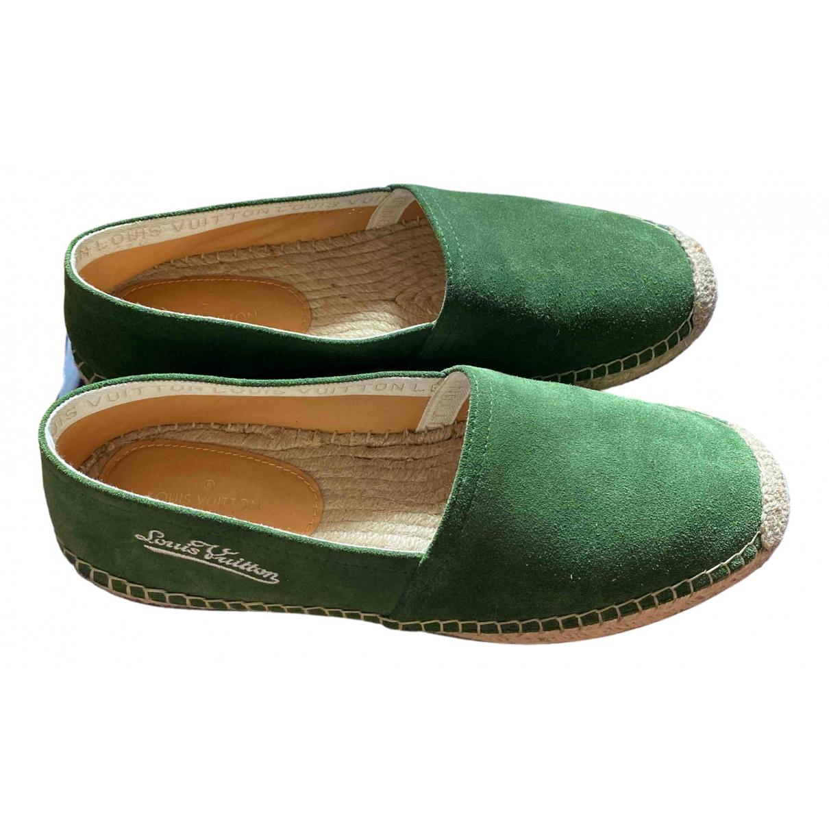 Louis Vuitton - Espadrilles   pour homme en suede - vert