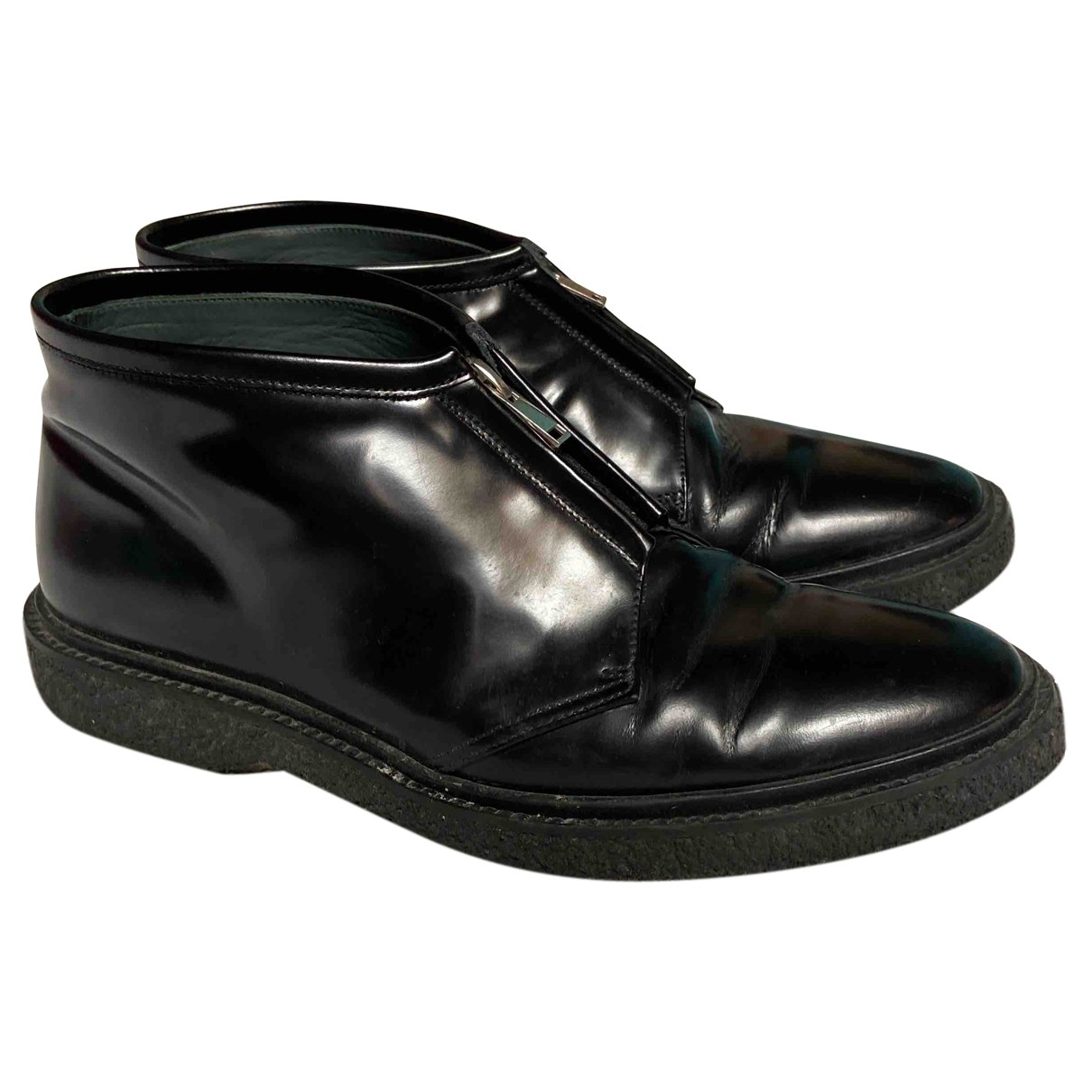 Adieu \N Black Patent leather Boots for Men 43 EU
