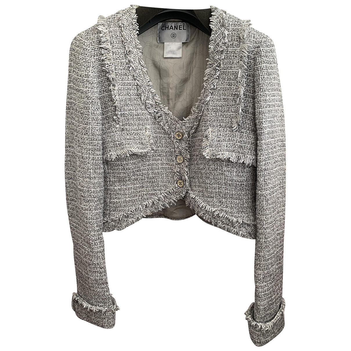 Chanel \N Grey Cotton jacket for Women 38 FR