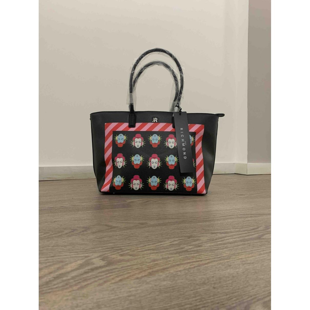 John Richmond \N Handtasche in  Schwarz Polyester