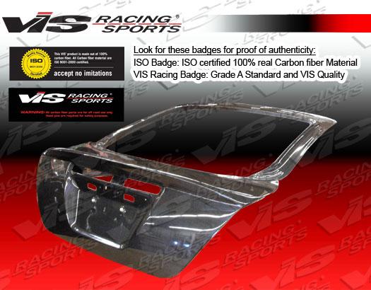 VIS Racing 05SNTC2DOE-020C Carbon Fiber OEM Hatch Trunk Lid Scion TC 07-08