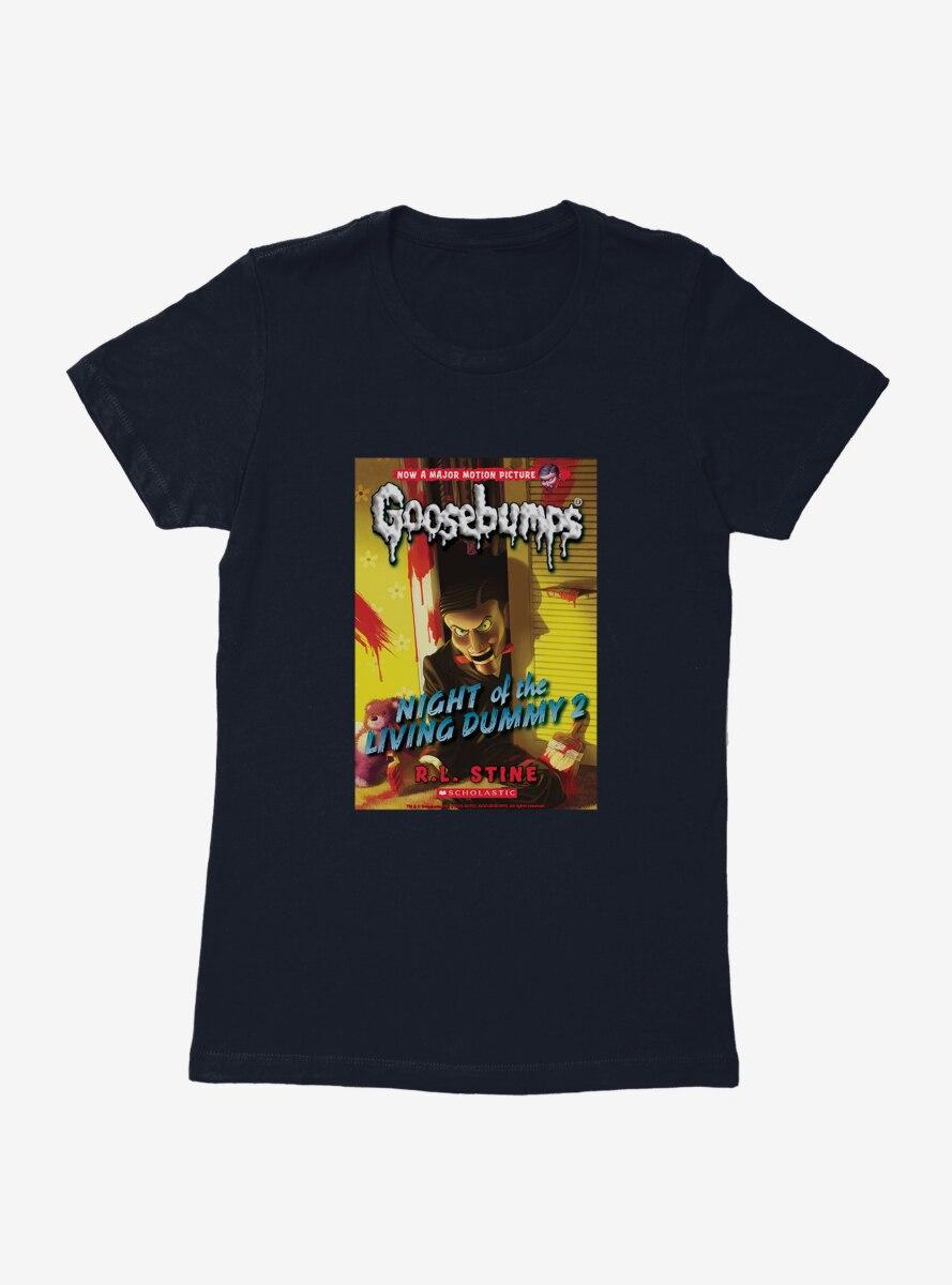 Goosebumps Night Of The Living Dummy 2 Book Womens T-Shirt