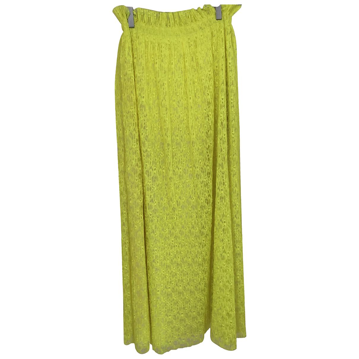 Msgm - Jupe   pour femme - jaune