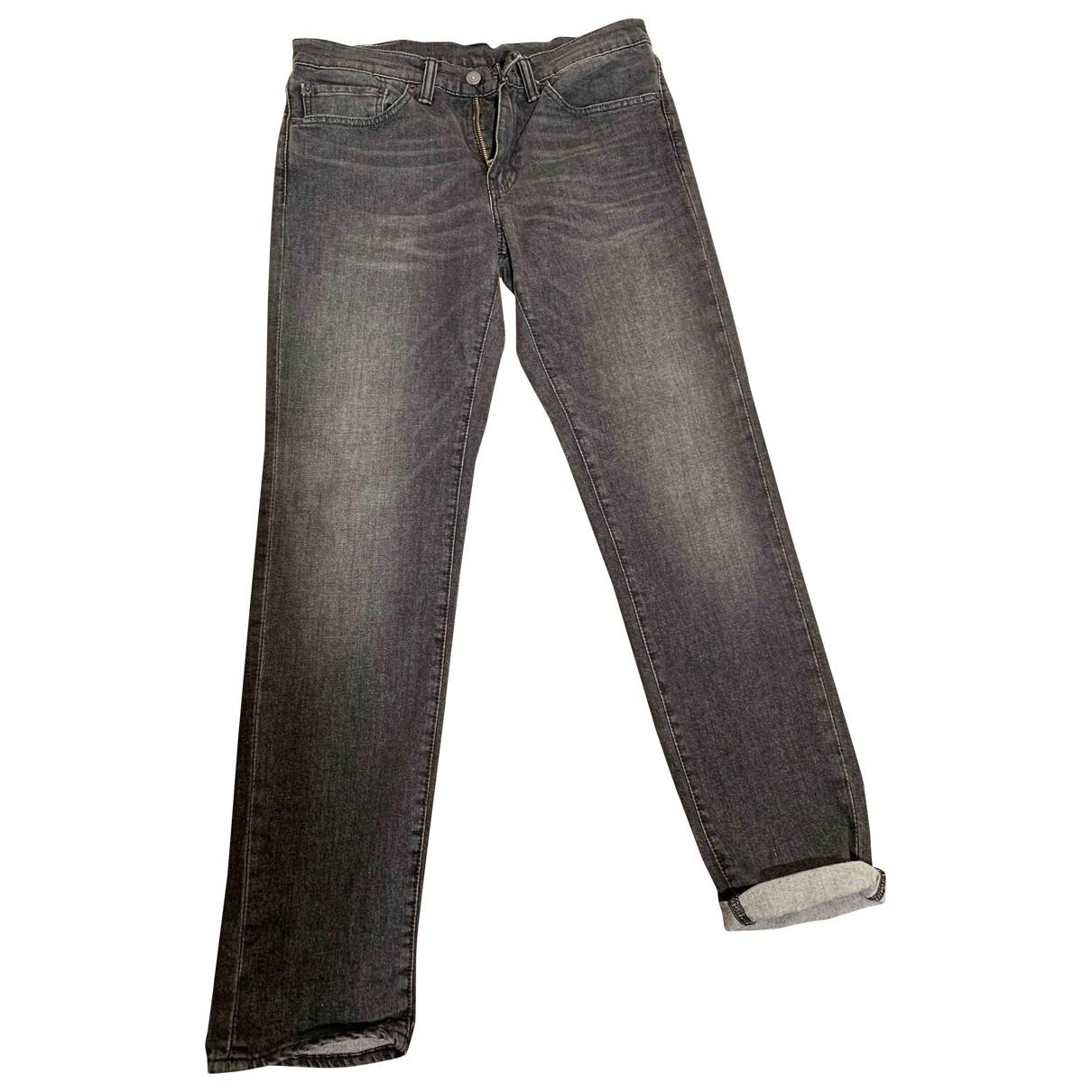 Levi's \N Grey Cotton Jeans for Men 31 US