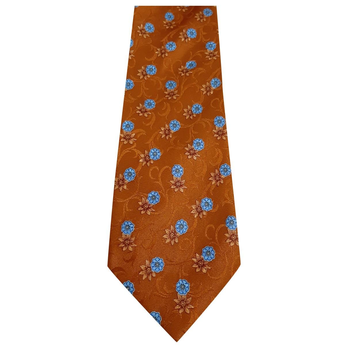 Balenciaga - Cravates   pour homme en soie - orange