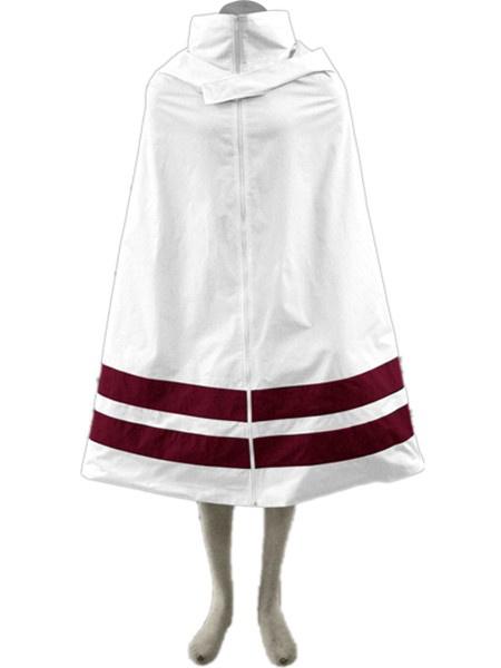 Milanoo Halloween Capa blanca para cosplay de Naruto
