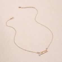 Halskette mit Diamand Dekor