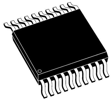 Microchip PIC16F1509-E/SS, 8bit PIC Microcontroller, PIC16F, 20MHz, 8192 words Flash, 20-Pin SSOP (3)