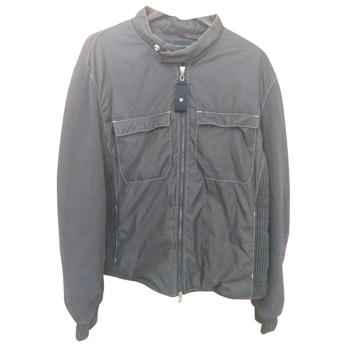 Armani Jeans \N Jacke in  Grau Baumwolle