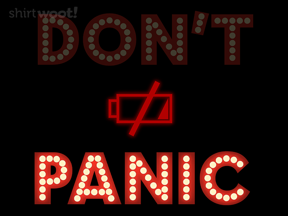 Panic T Shirt