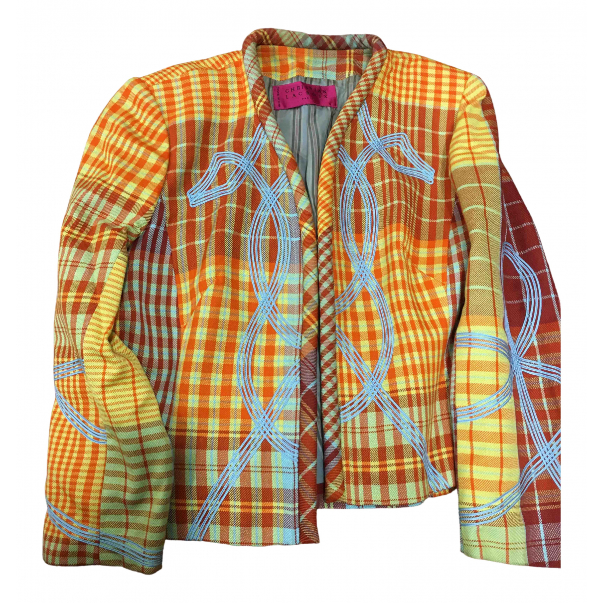 Christian Lacroix N Multicolour Wool jacket for Women 42 FR