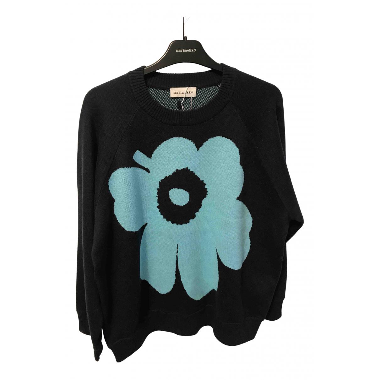 Marimekko - Pull   pour femme en coton - bleu