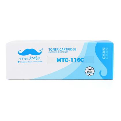 Compatible Canon ImageClass MF8050CN Toner 116C 1979B001AA Cyan  - Moustache