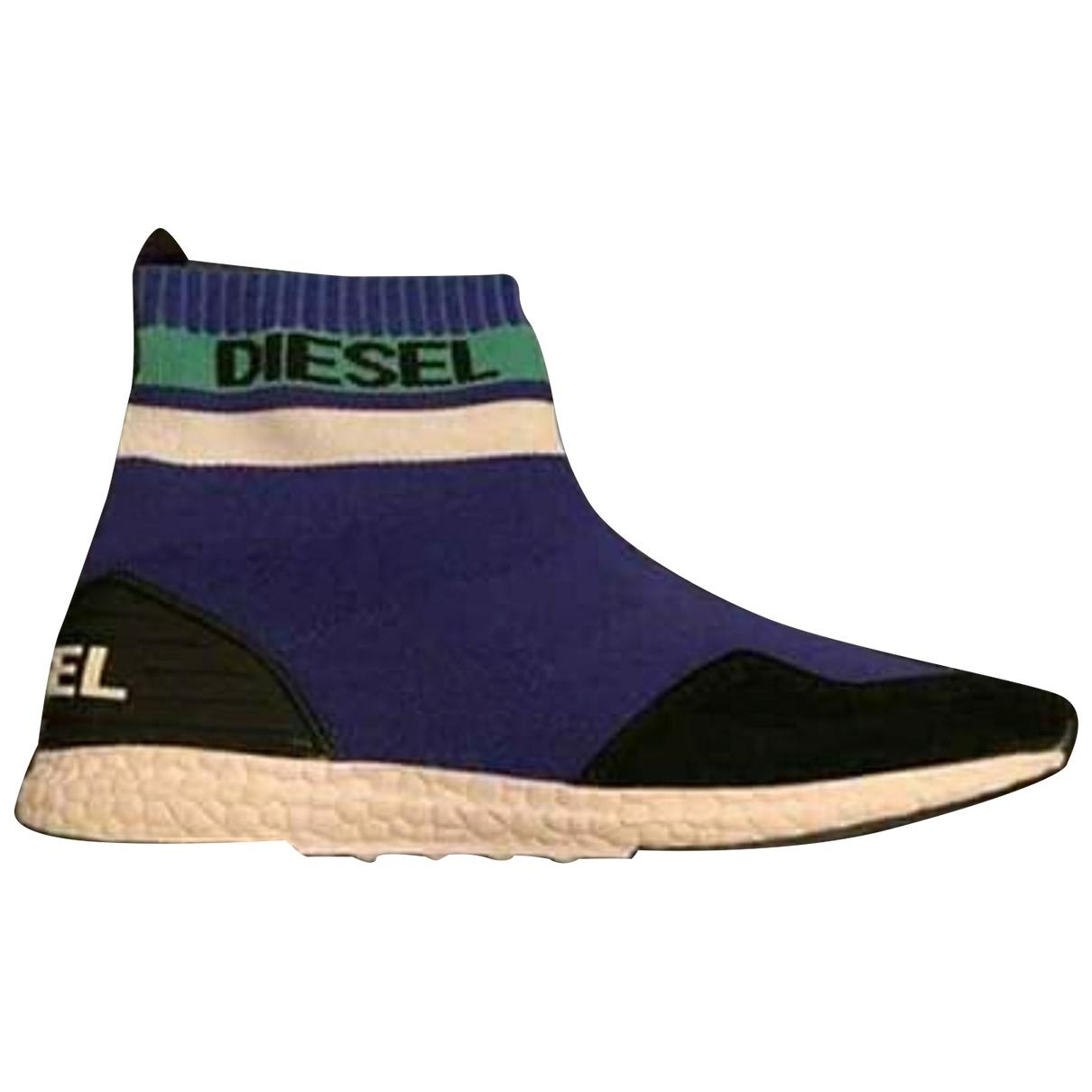 Diesel \N Blue Trainers for Women 38 EU
