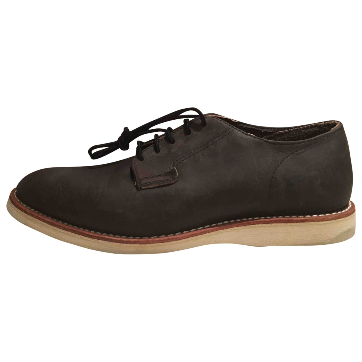 Red Wings \N Brown Leather Lace ups for Men 41 EU