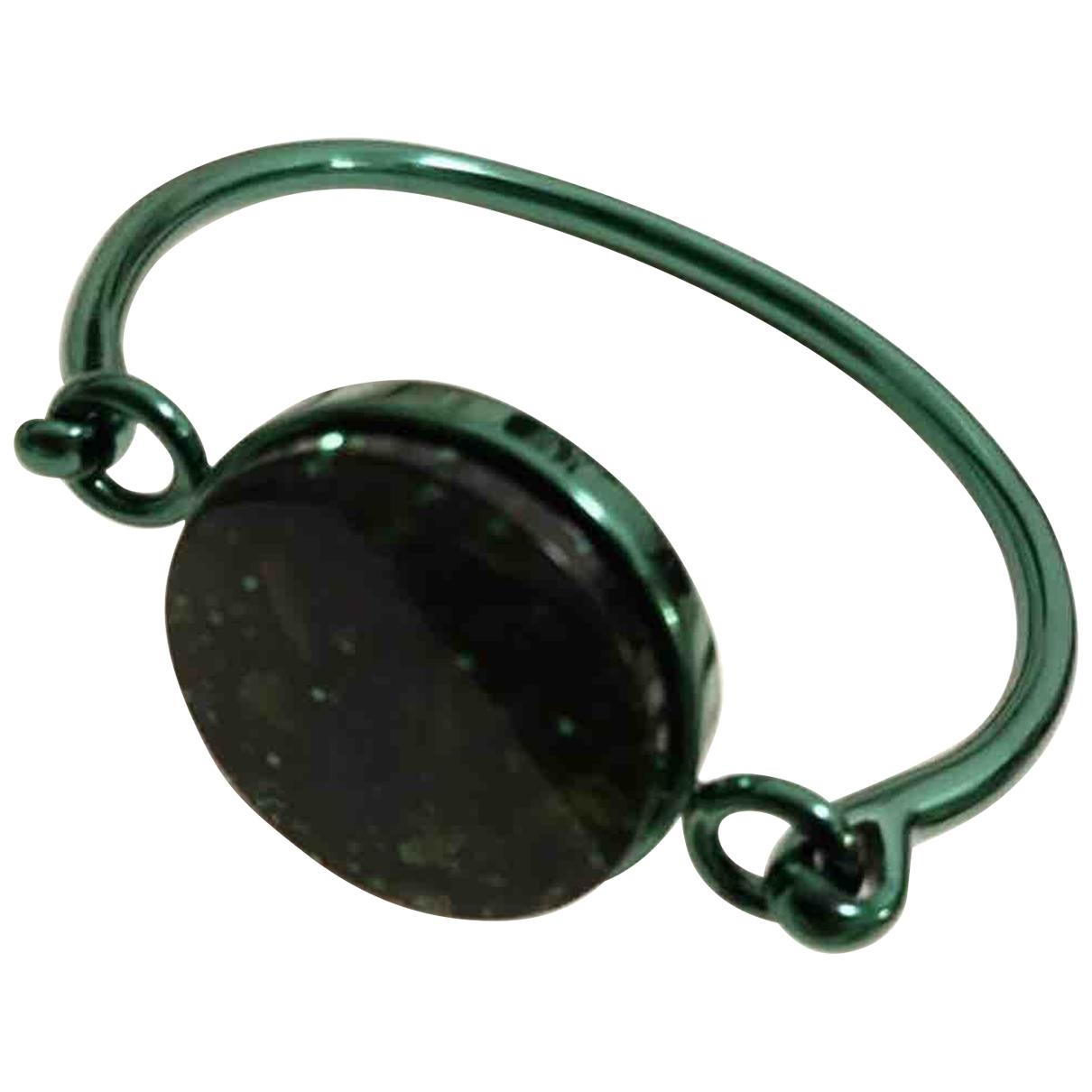Celine Coin Armband in  Gruen Metall