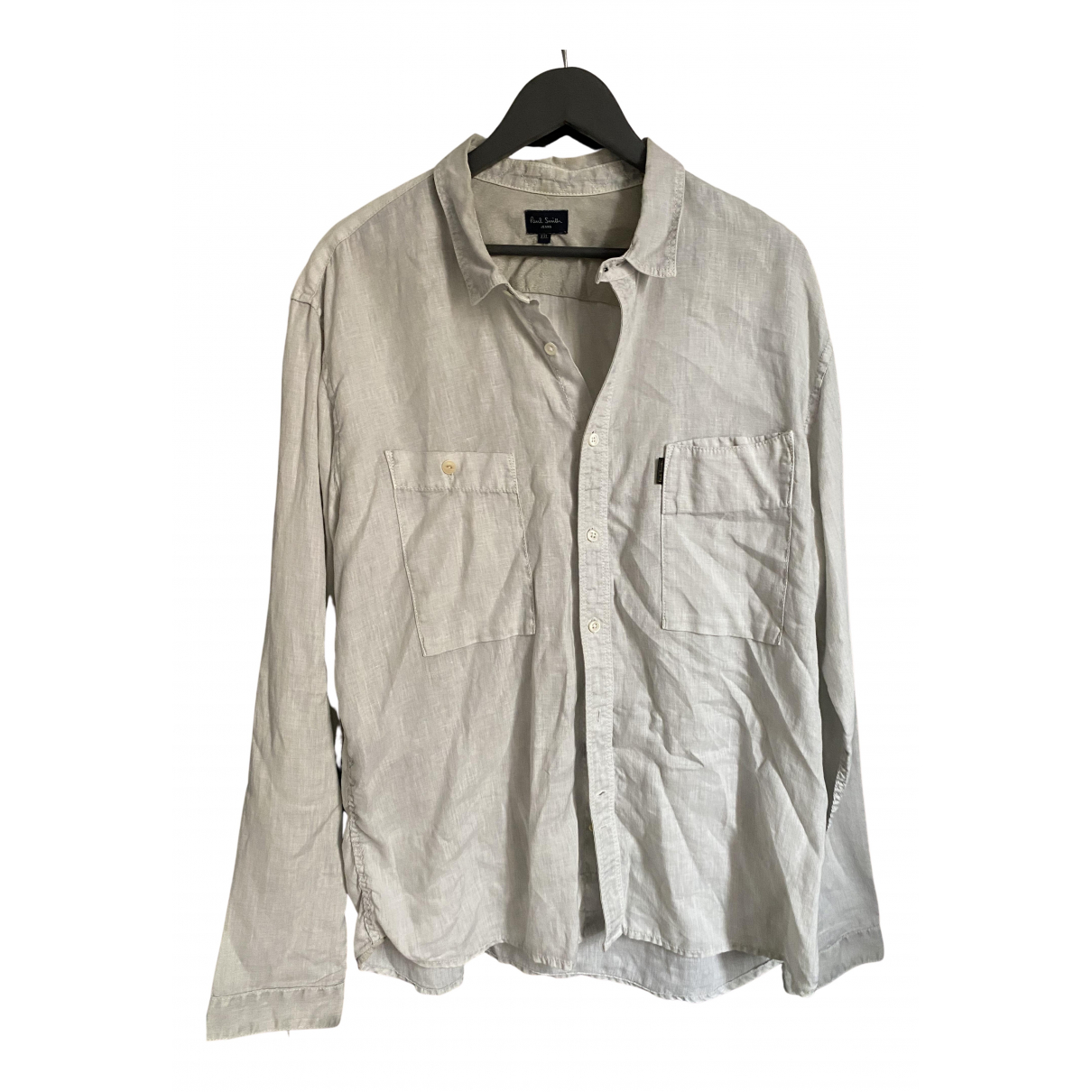 Paul Smith - Chemises   pour homme en lin - ecru