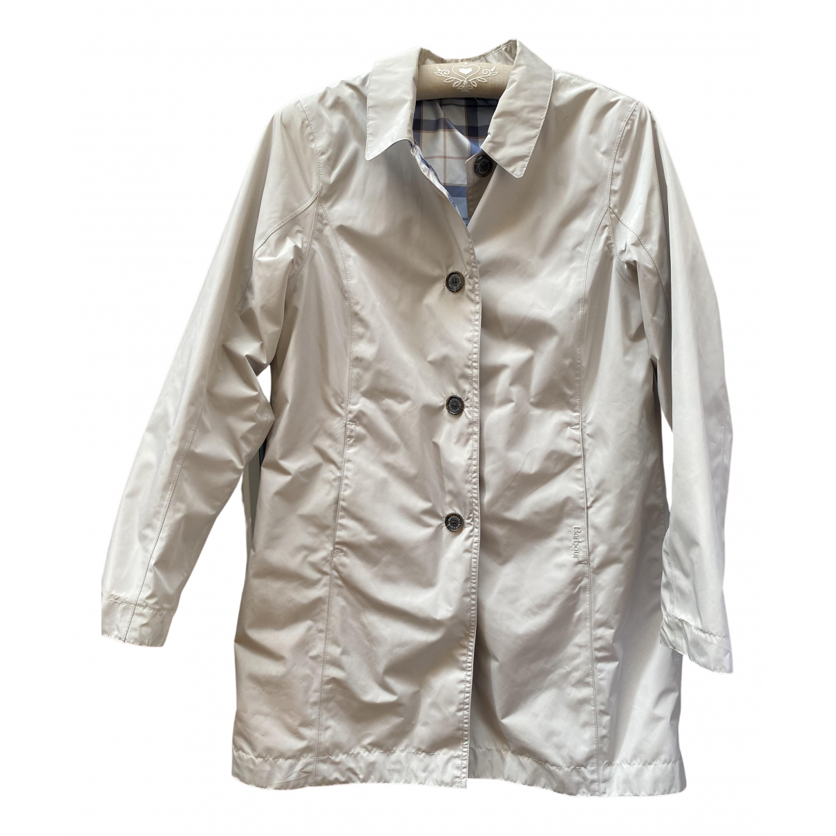 Barbour \N Trench in  Beige Polyester