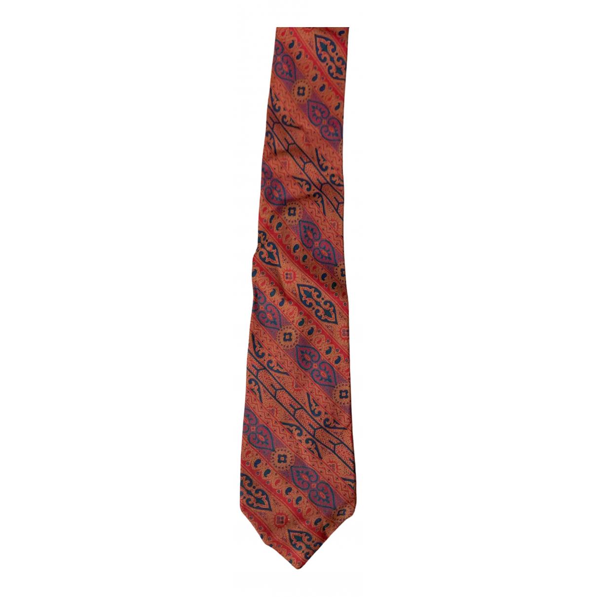 Pierre Cardin - Cravates   pour homme en soie - bordeaux