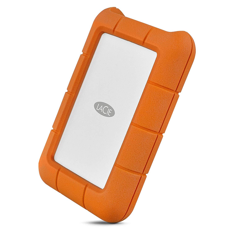LaCie Rugged 5TB USB-C and USB 3.0 Portable Hard Drive - STFR5000800