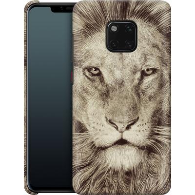 Huawei Mate 20 Pro Smartphone Huelle - Leo Lion von Eric Fan
