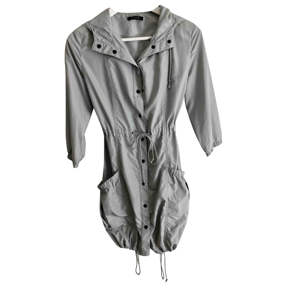 Samsoe & Samsoe - Manteau   pour femme en coton - gris