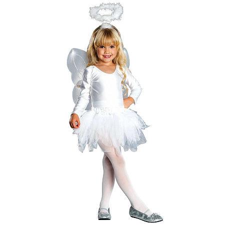 Angel Child Costume Girls Costume, 4-6 , White