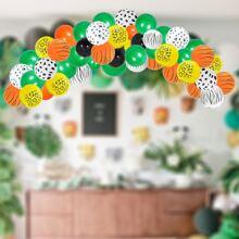 1 set globo decorativo con patron de animal