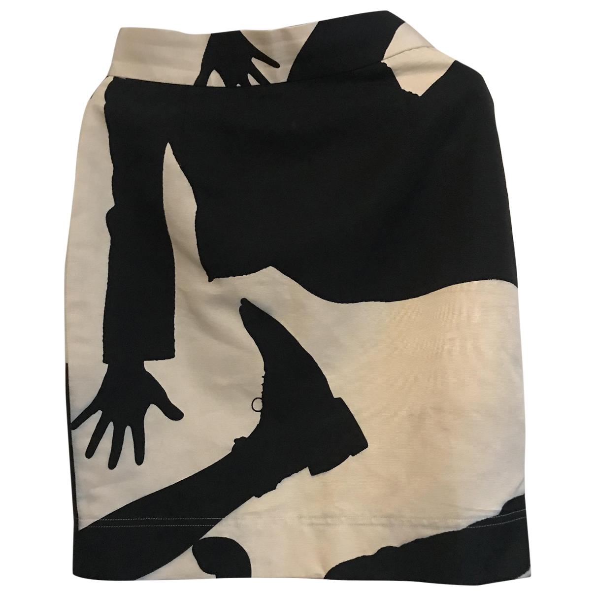 Moschino Cheap And Chic - Jupe   pour femme en coton - noir