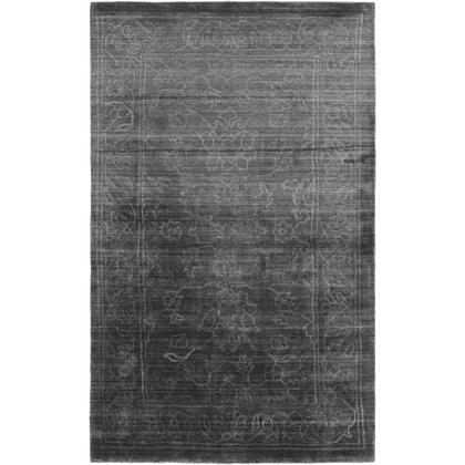 Hightower HTW-3002 12' x 15' Rectangle Traditional Rug in Charcoal  Light