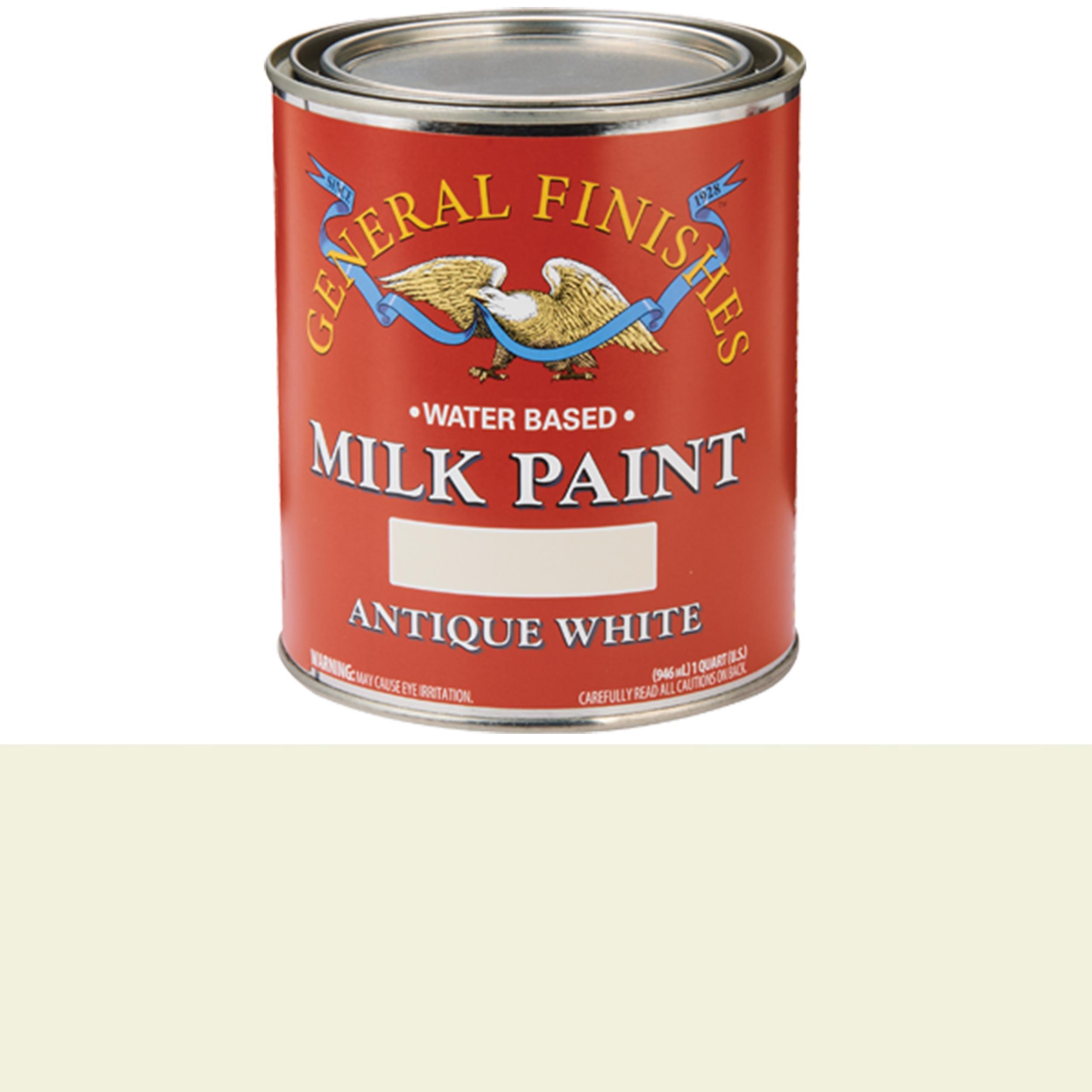 Antique White Milk Paint Water Based Quart