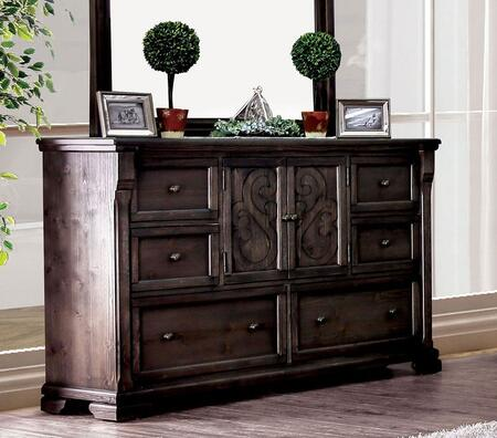 Amadora Collection CM7533D Dresser With Molded Trim In