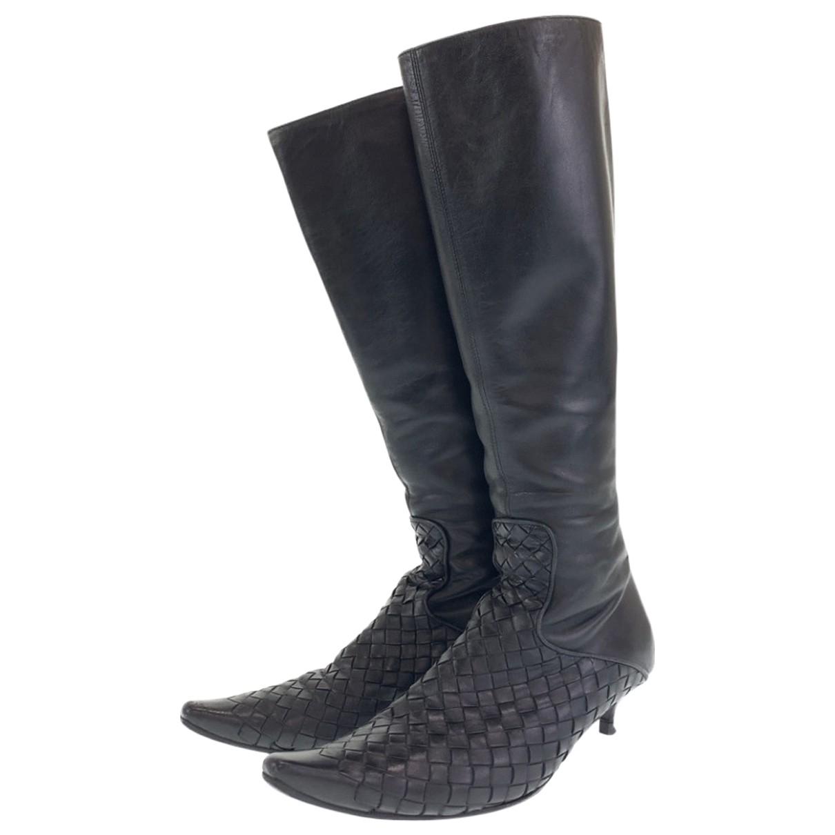 Bottega Veneta - Bottes   pour femme en cuir