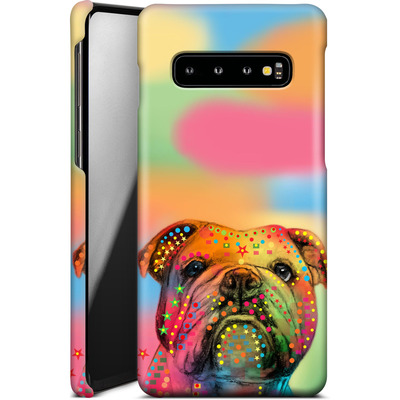 Samsung Galaxy S10 Smartphone Huelle - Bulldog von Mark Ashkenazi