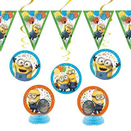 Kit de décoration de fête Despicable Me Minions 7Pcs Pour la fête d'anniversaire