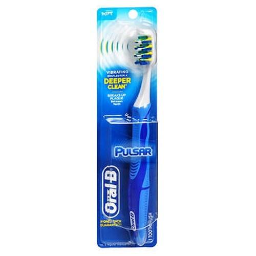 Oral-B Pulsar Toothbrush 40 Soft each by Oral-B