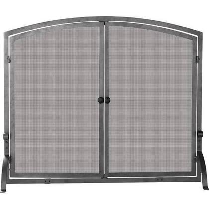 S-1142 Single Panel Olde World Iron Screen with doors