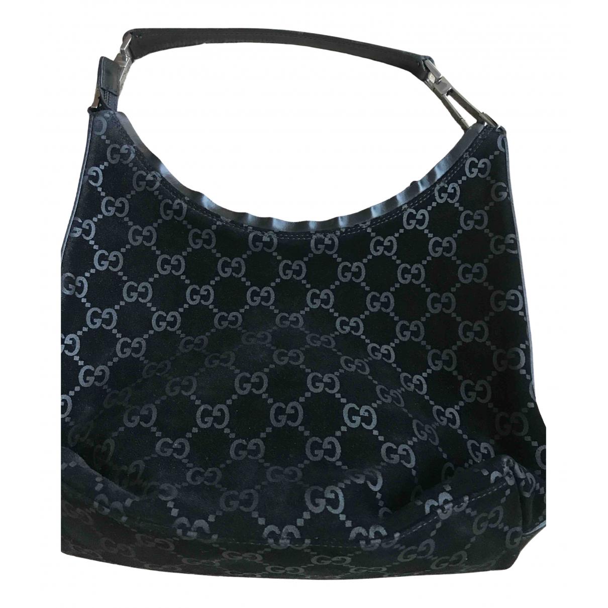 Gucci \N Black Suede handbag for Women \N