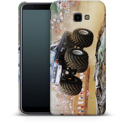 Samsung Galaxy J4 Plus Smartphone Huelle - Old School Jump von Bigfoot 4x4