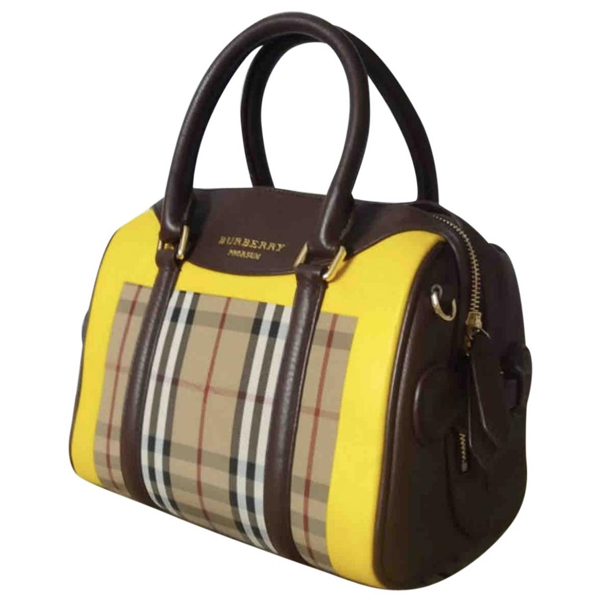 Burberry \N Multicolour Leather handbag for Women \N