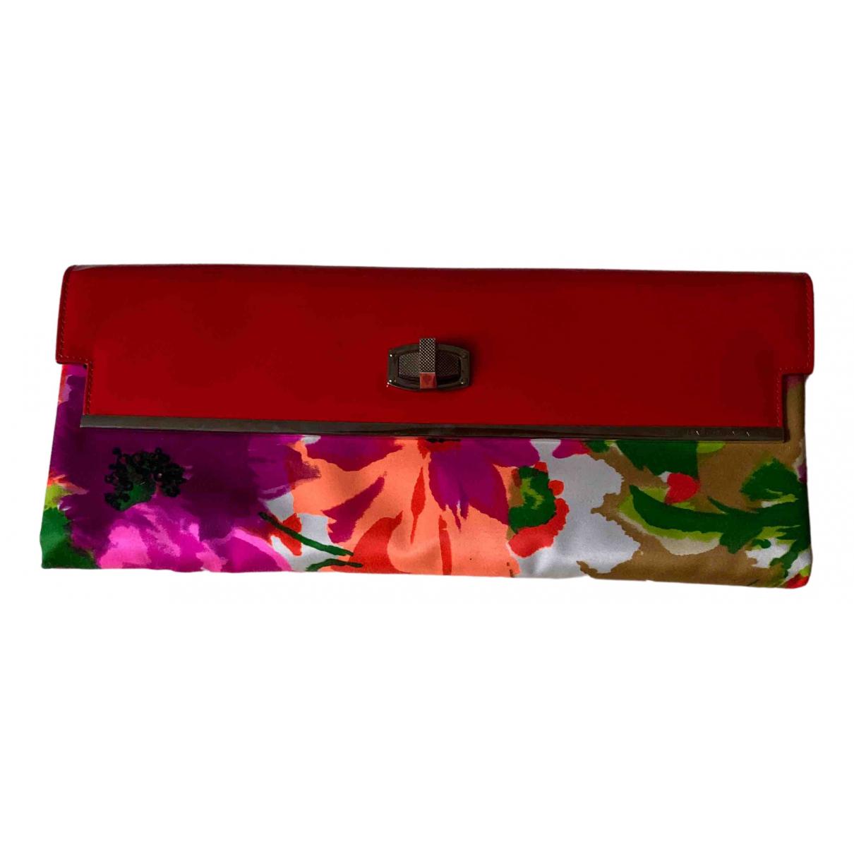 Balenciaga \N Clutch in  Rot Lackleder
