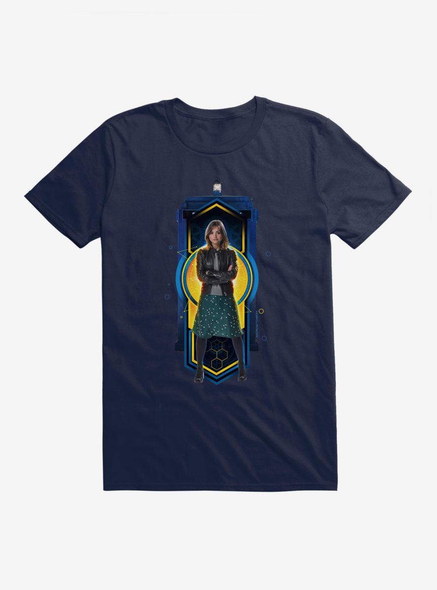 Doctor Who TARDIS Clara Team T-Shirt