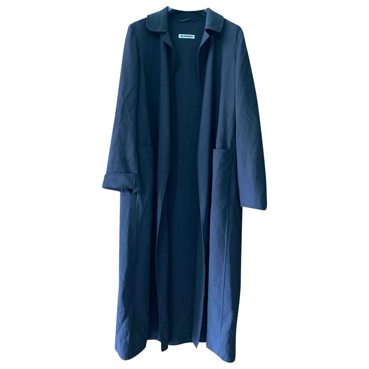 Jil Sander - Manteau   pour femme en laine